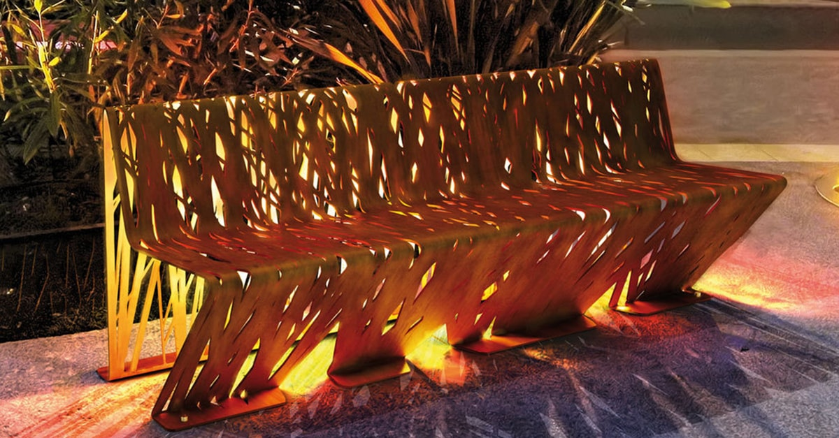 Corten Steel Benches Compare All Uk Suppliers Esi Info
